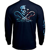 Salt Life Men's Ameriskull Long Sleeve Shirt