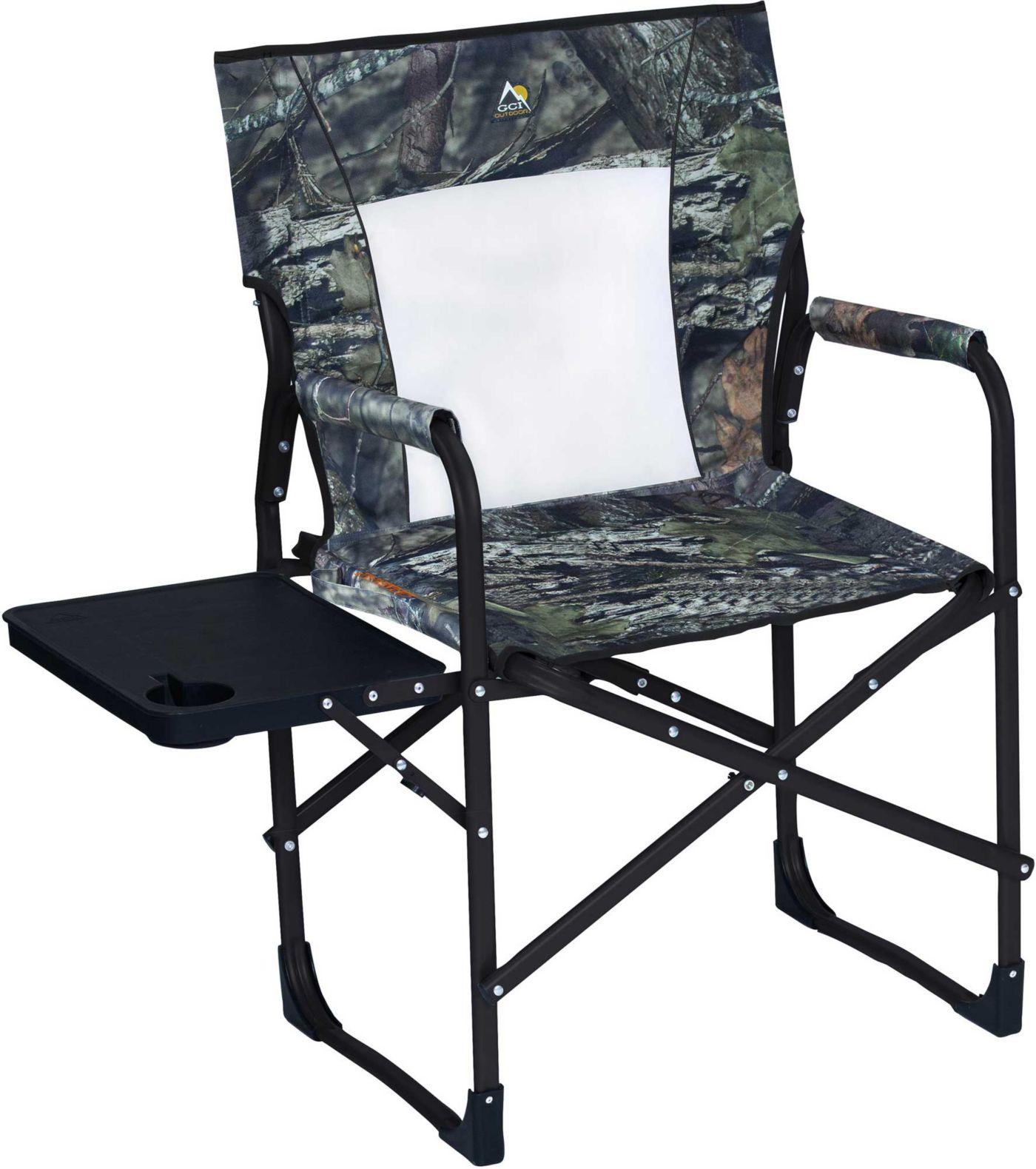 GCI Outdoor Camo Slim Fold Director's Chair
