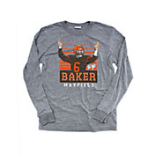Where I'm From Men's Baker TD Heather Grey Tri-Blend Long Sleeve Shirt