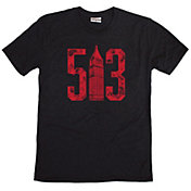 Where I'm From Men's 513 Black Tri-Blend T-Shirt