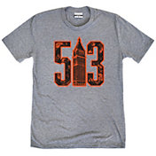 Where I'm From Men's 513 Heather Grey Tri-Blend T-Shirt