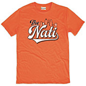 Where I'm From Men's The Nati Orange Tri-Blend T-Shirt