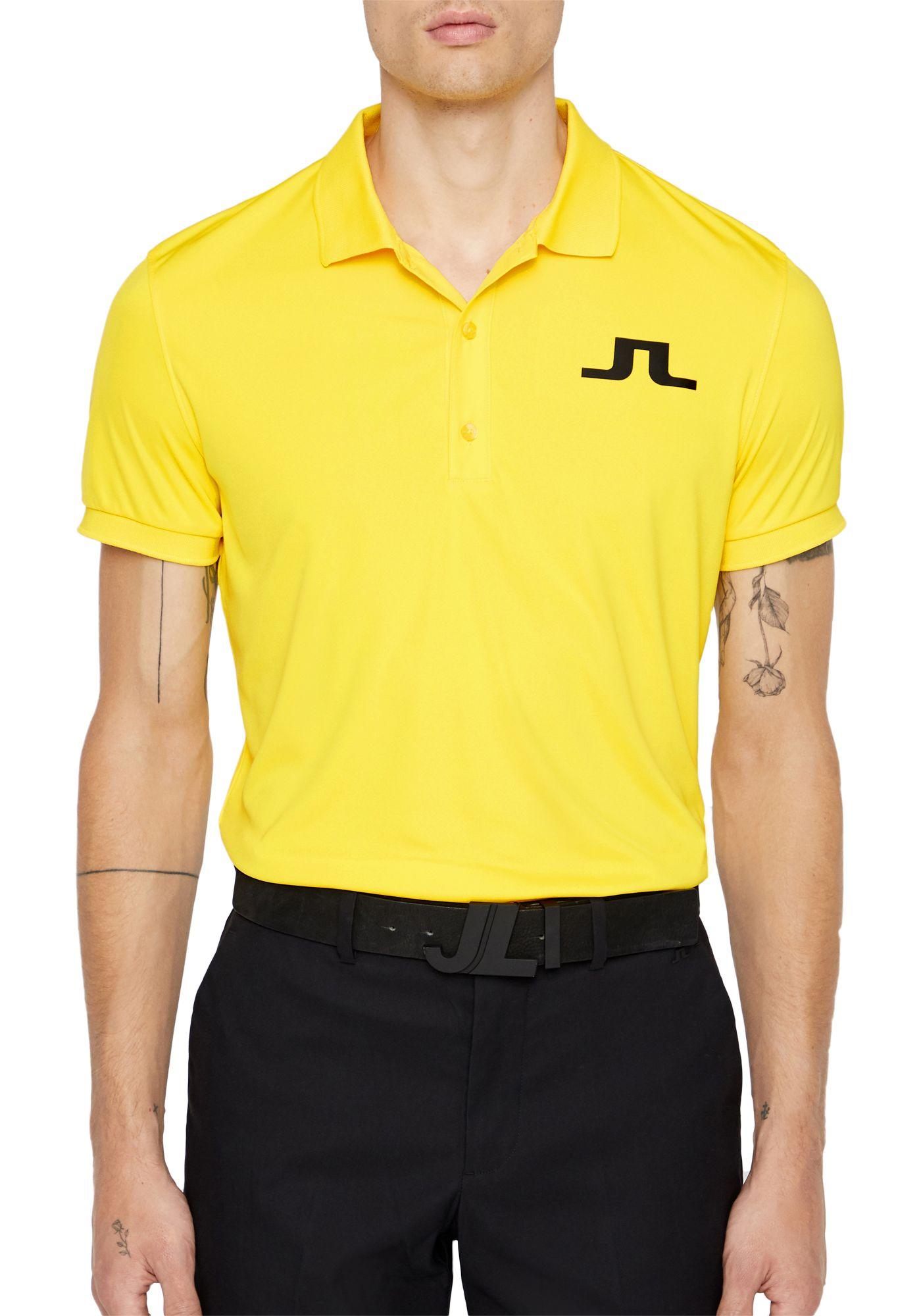 J.Lindeberg Men's Big Bridge Jersey Golf Polo