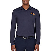J.Lindeberg Men's Big Bridge Long Sleeve Golf Polo