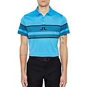 J.Lindeberg Men's Cole Slim Jacquard Golf Polo