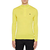 J.Lindeberg Men's Kian 2.0 ¼ Zip Golf Pullover