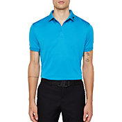 J.Lindeberg Men's Lux KV Jacquard Golf Polo