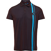 J.Lindeberg Men's Anton Jacquard Golf Polo