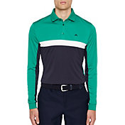J.Lindeberg Men's Ethan Slim Long Sleeve Golf Polo