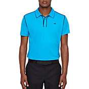 J.Lindeberg Men's Tomi Lux Pique Golf Polo