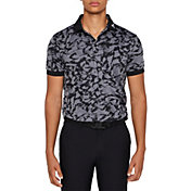 J.Lindeberg Men's Tour Tech Jacquard Golf Polo
