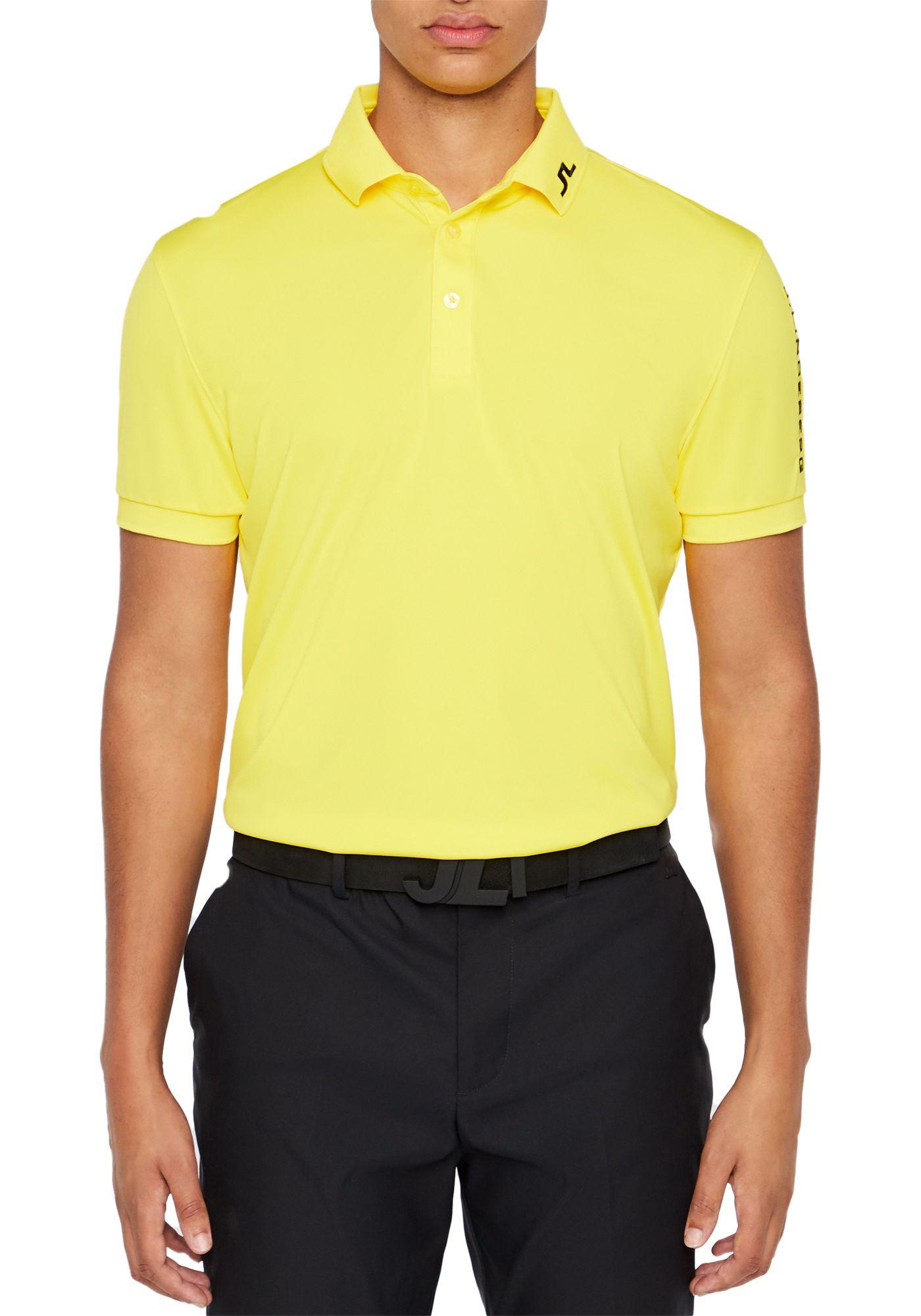 J.Lindeberg Men's Tour Tech Jersey Golf Polo