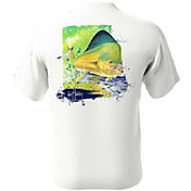 Guy Harvey Men's Mahi Time Pocket T-Shirt