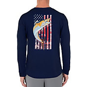 Guy Harvey Men's American Wahoo Long Sleeve Shirt