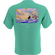 Guy Harvey Men's Out At Sea Pocket T-Shirt