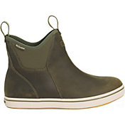 XTRATUF Men's Leather Ankle Waterproof Deck Boots