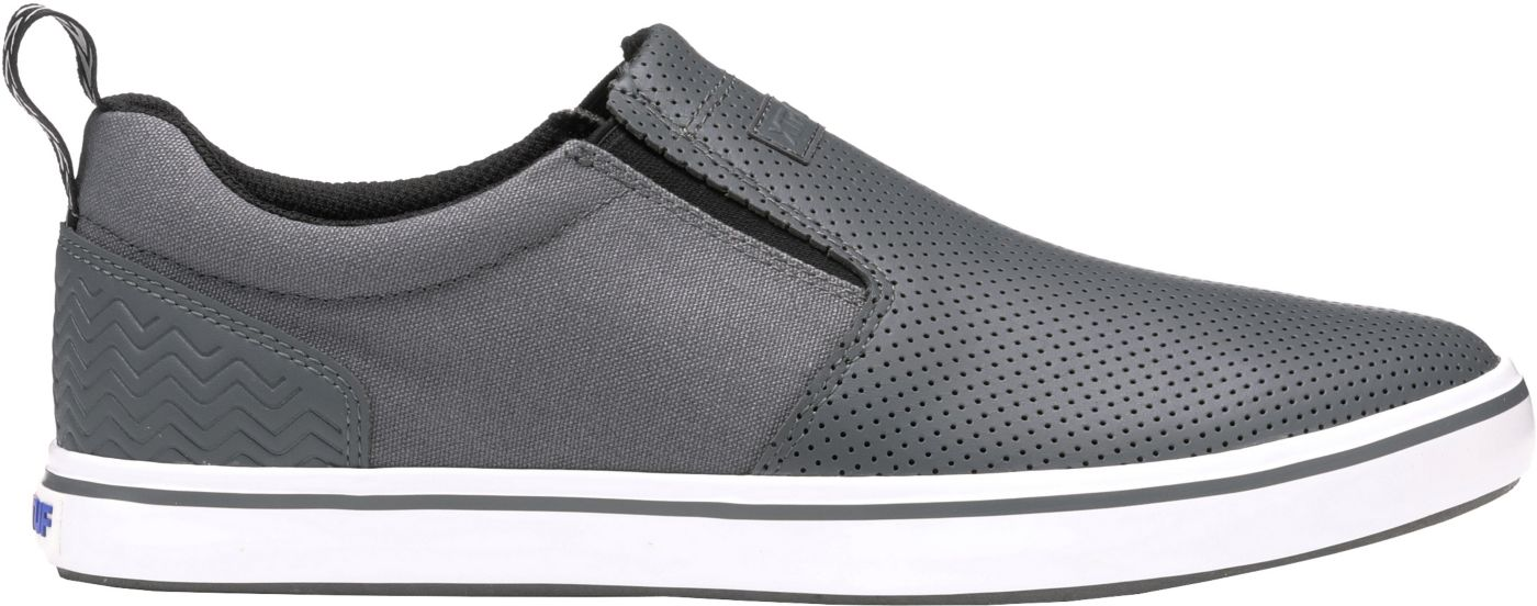 XTRATUF Men's Sharkbyte Perforated Leather Slip-On Casual Shoes