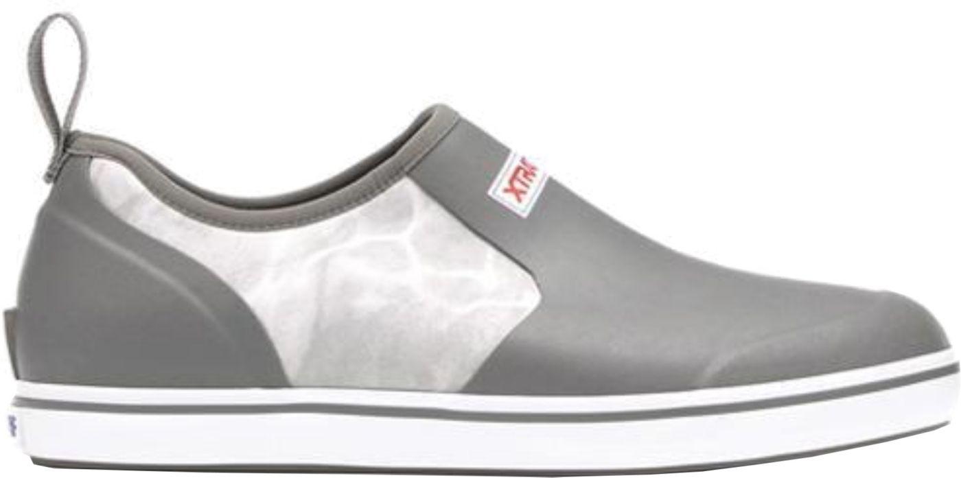 XTRATUF Men's Mossy Oak Slip-On Deck Shoes