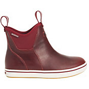 XTRATUF Women's Leather Ankle Waterproof Deck Boots