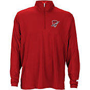 Starter Men's San Antonio Commanders On-Field Coaches Red Quarter-Zip Pullover