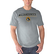G-III Men's San Diego Fleet #ALLHANDSONDECK Grey T-Shirt