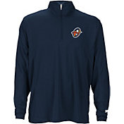 Starter Men's Orlando Apollos On-Field Coaches Navy Quarter-Zip Pullover