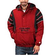 Starter Men's Chicago Bulls Hooded Pullover Jacket