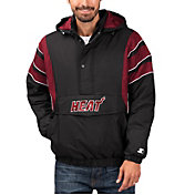 Starter Men's Miami Heat Hooded Pullover Jacket