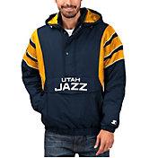 Starter Men's Utah Jazz Hooded Pullover Jacket