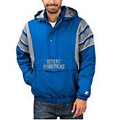 Starter Men's Dallas Mavericks Hooded Pullover Jacket