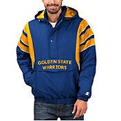 Starter Men's Golden State Warriors Hooded Pullover Jacket