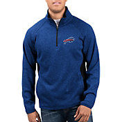 G-III Men's Buffalo Bills Centerfold Half-Zip Royal Jacket