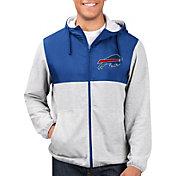 G-III Men's Buffalo Bills Intermission Full-Zip Grey Jacket