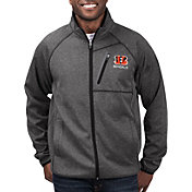 G-III Men's Cincinnati Bengals Switchback Full-Zip Black Jacket