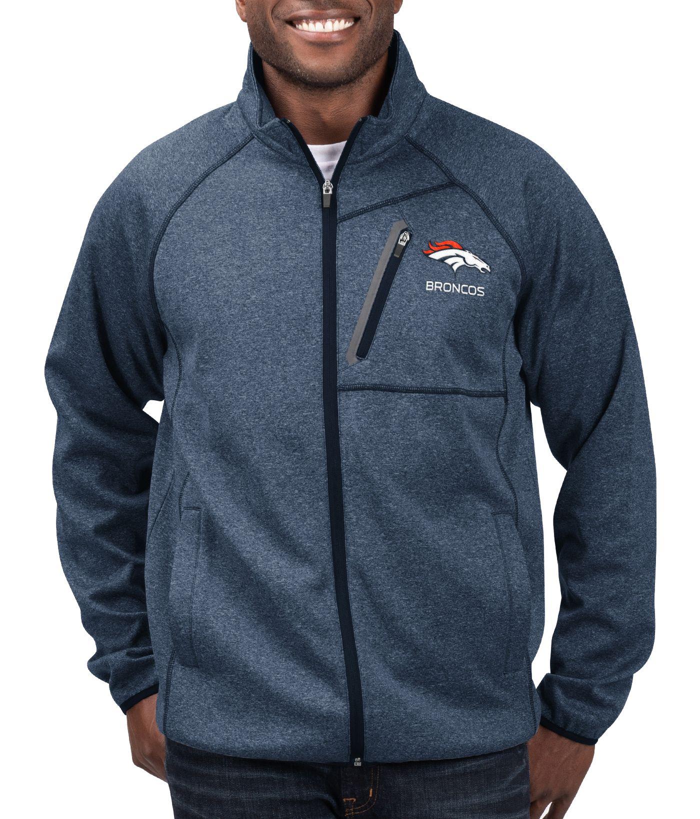 G-III Men's Denver Broncos Switchback Full-Zip Navy Jacket