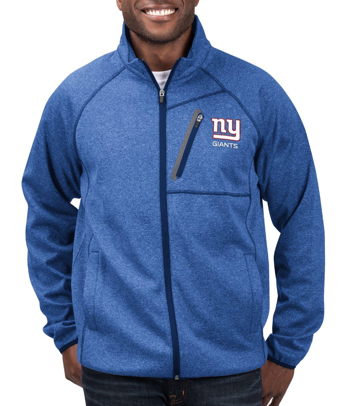 G-III Men's New York Giants Switchback Full-Zip Royal Jacket