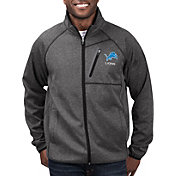 G-III Men's Detroit Lions Switchback Full-Zip Black Jacket