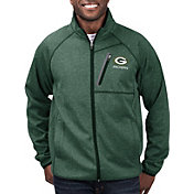 G-III Men's Green Bay Packers Switchback Full-Zip Green Jacket