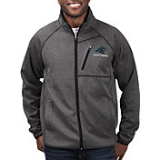 G-III Men's Carolina Panthers Switchback Full-Zip Black Jacket