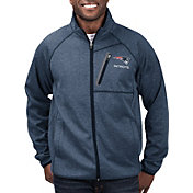 G-III Men's New England Patriots Switchback Full-Zip Navy Jacket