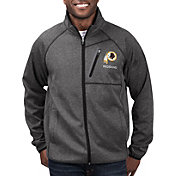 G-III Men's Washington Redskins Switchback Full-Zip Black Jacket