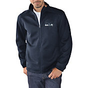 G-III Men's Seattle Seahawks Audible Navy Full-Zip Jacket