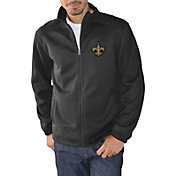 G-III Men's New Orleans Saints Audible Black Full-Zip Jacket