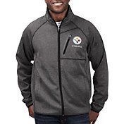 G-III Men's Pittsburgh Steelers Switchback Full-Zip Black Jacket