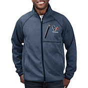 G-III Men's Houston Texans Switchback Full-Zip Navy Jacket