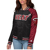 Starter Women's Miami Heat Varsity Jacket