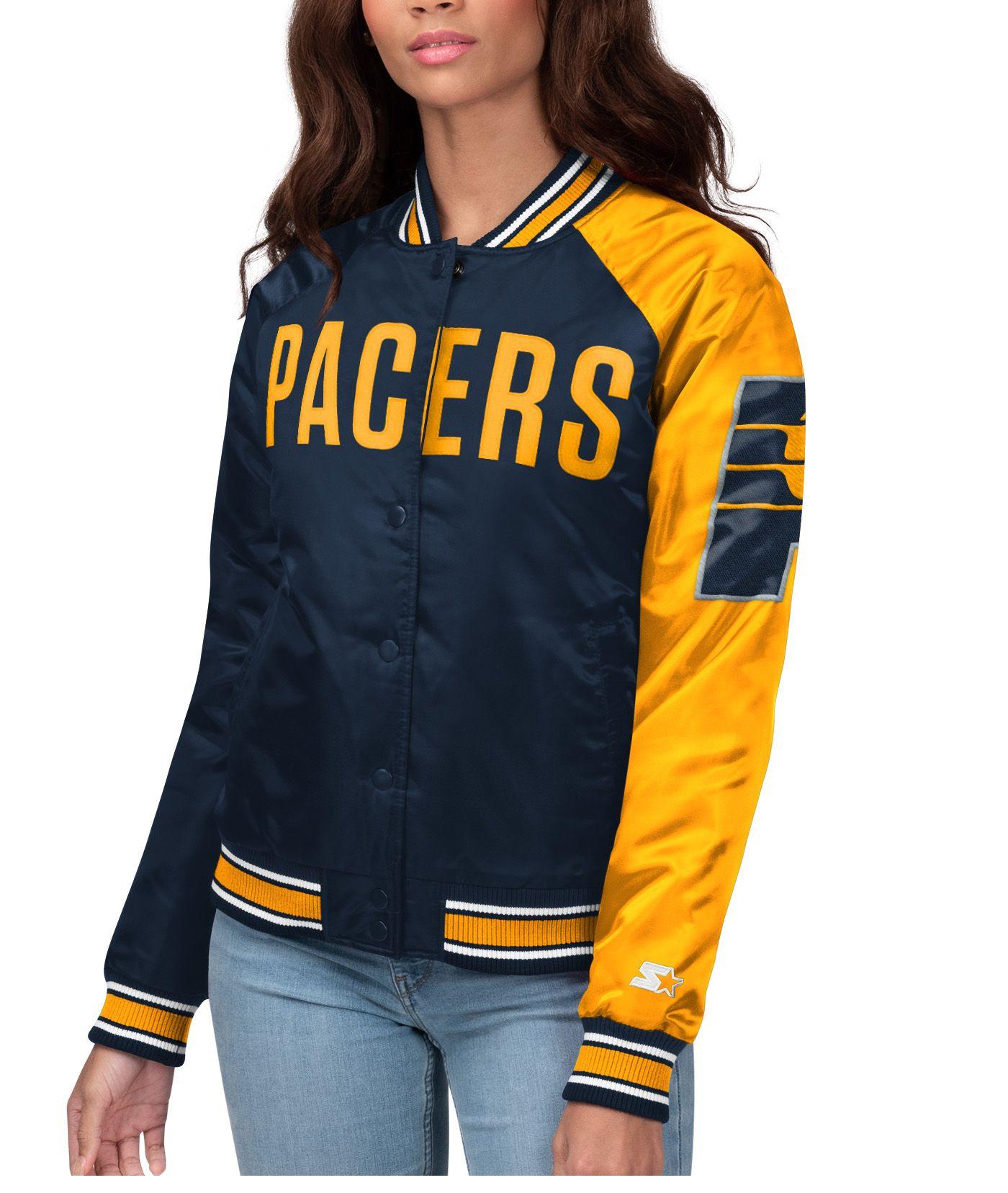 Starter Women's Indiana Pacers Varsity Jacket
