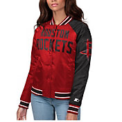 Starter Women's Houston Rockets Varsity Jacket