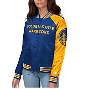 Starter Women's Golden State Warriors Varsity Jacket