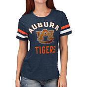 G-III For Her Women's Auburn Tigers Blue Extra Point T-Shirt